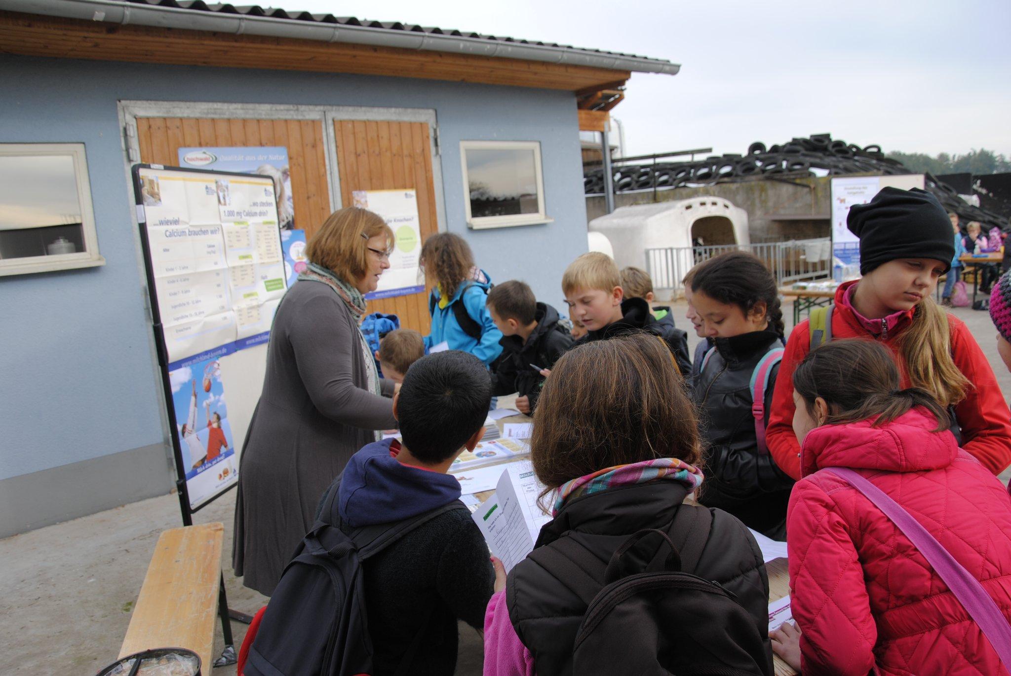 Die Milch macht´s: Schulkinder erfahren Wissenwertes rund um