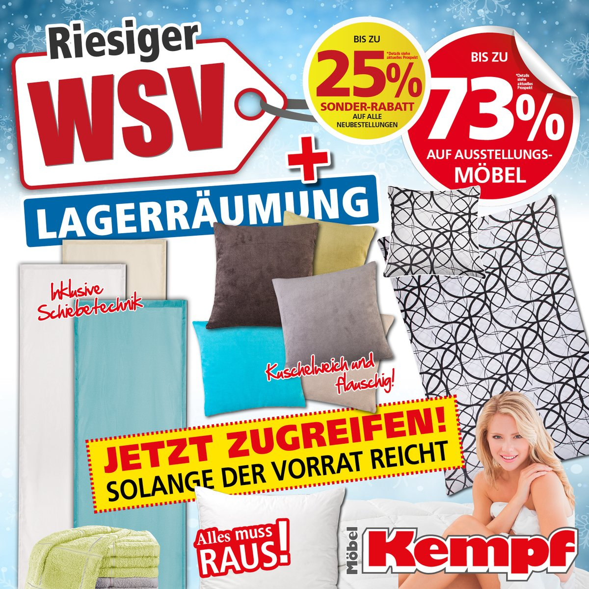 Riesiger Wsv Und Lagerraumung Bei Mobel Kempf In Aschaffenburg Und