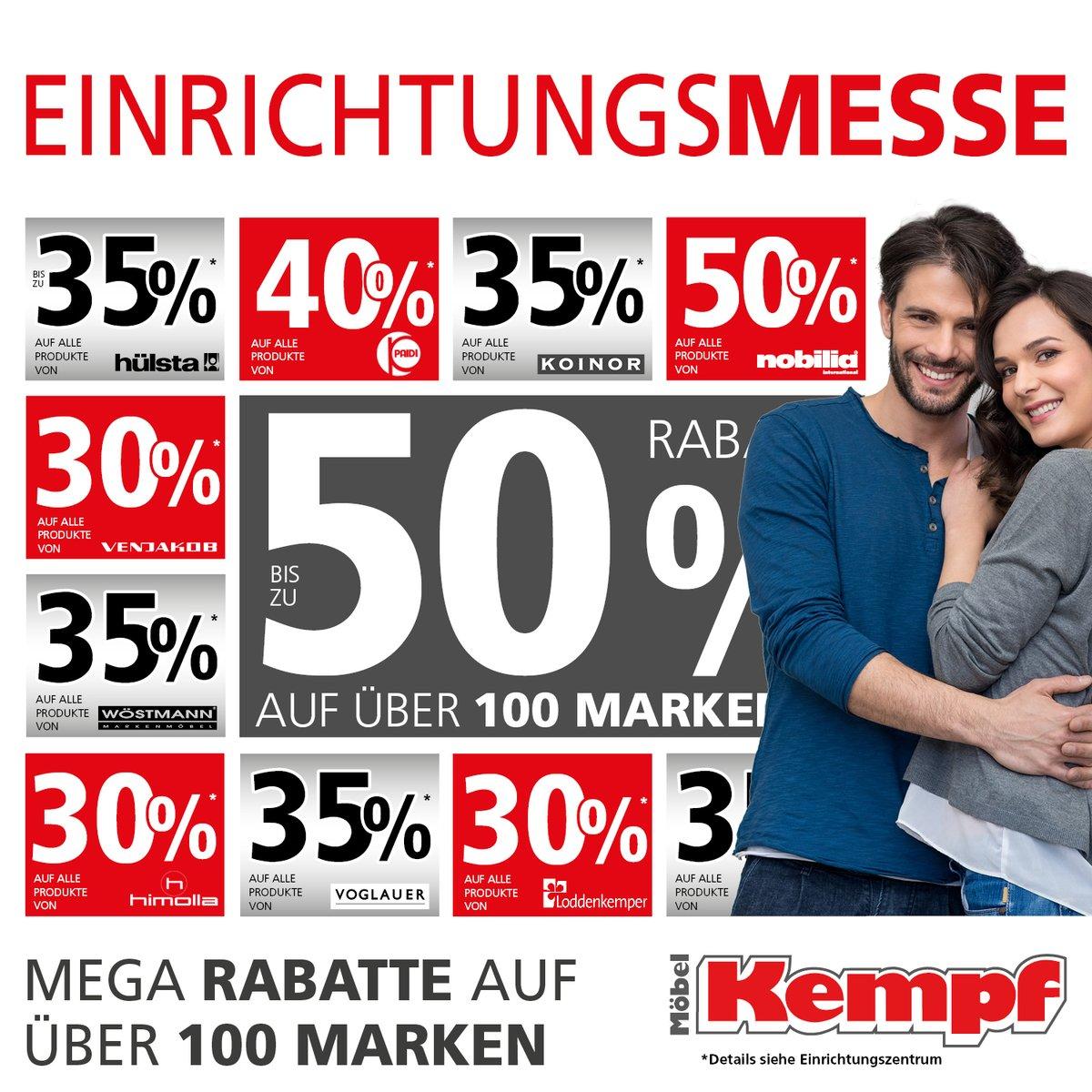 Mega Rabatte Einrichtungsmesse Bei Möbel Kempf In Aschaffenburg Und