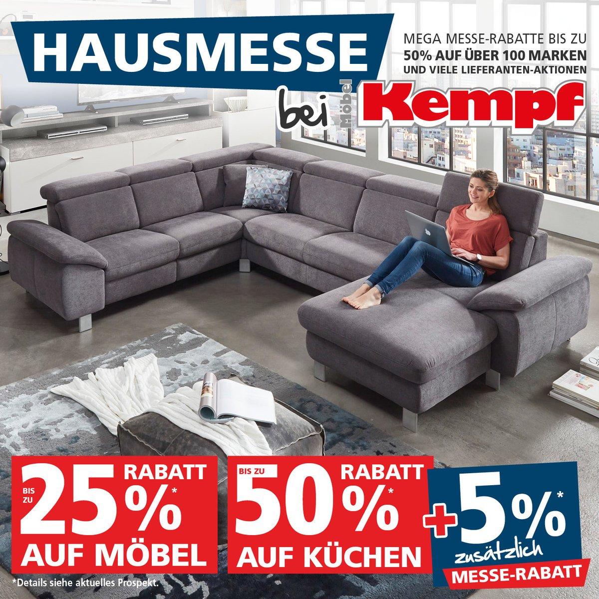 Große Hausmesse Bei Möbel Kempf Mega Messe Rabatte Bis Zu 50 Auf