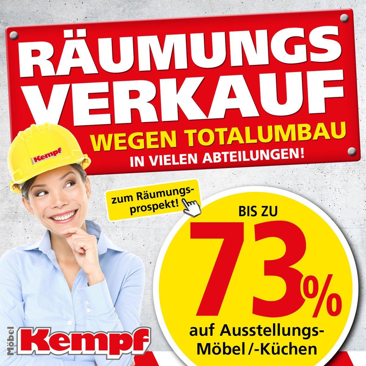 Großer Räumungsverkauf Bei Möbel Kempf Mit Bis Zu 73 Rabatt Leider