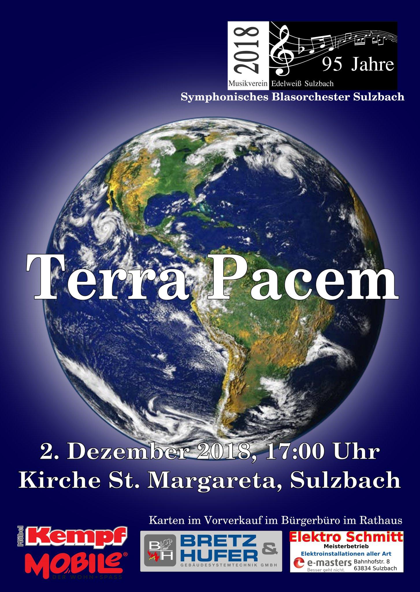 Terra Pacem Ein Kirchenkonzert In Besonderem Ambiente Sulzbach A
