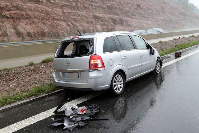 Verkehrsbehinderung A3