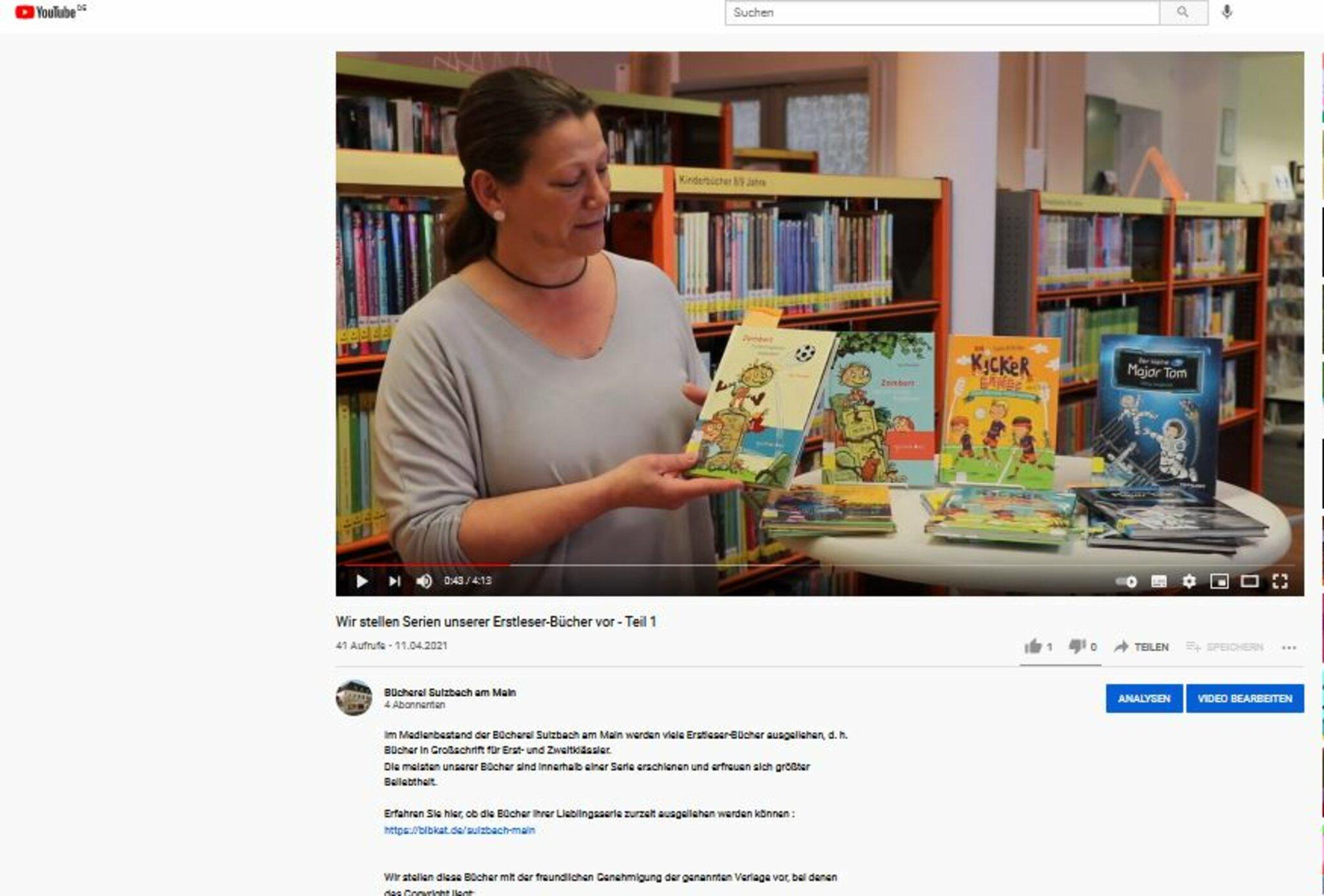 Vorstellung-der-Erstleser-Serien-auf-YouTube-im-Kanal-der-B-cherei-Sulzbach-am-Main